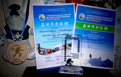 Награды фестиваля