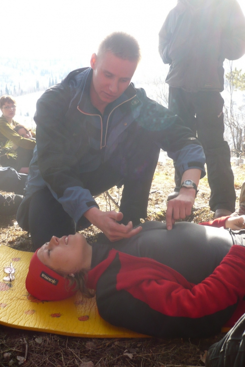 Лекция по первой помощи в горах. Ведет Дмитрий Ступников