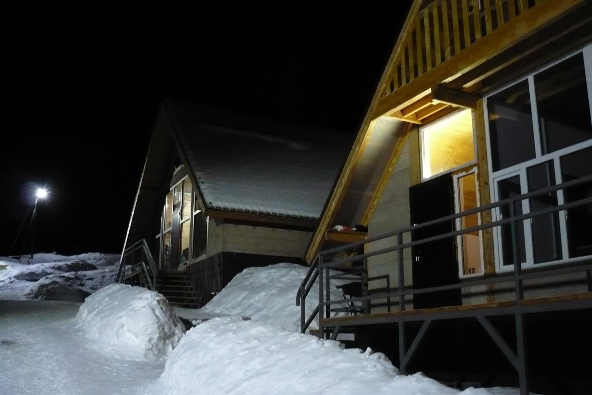 Дома альплагеря Туюк-Су