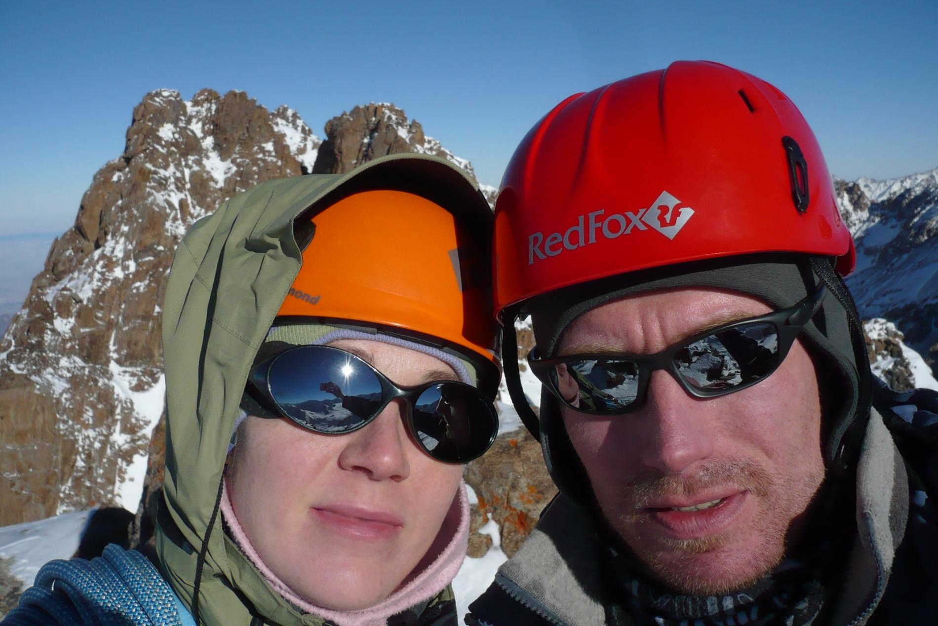 На вершине Хрищатого (Йошкар-Ола) (3 950 м)