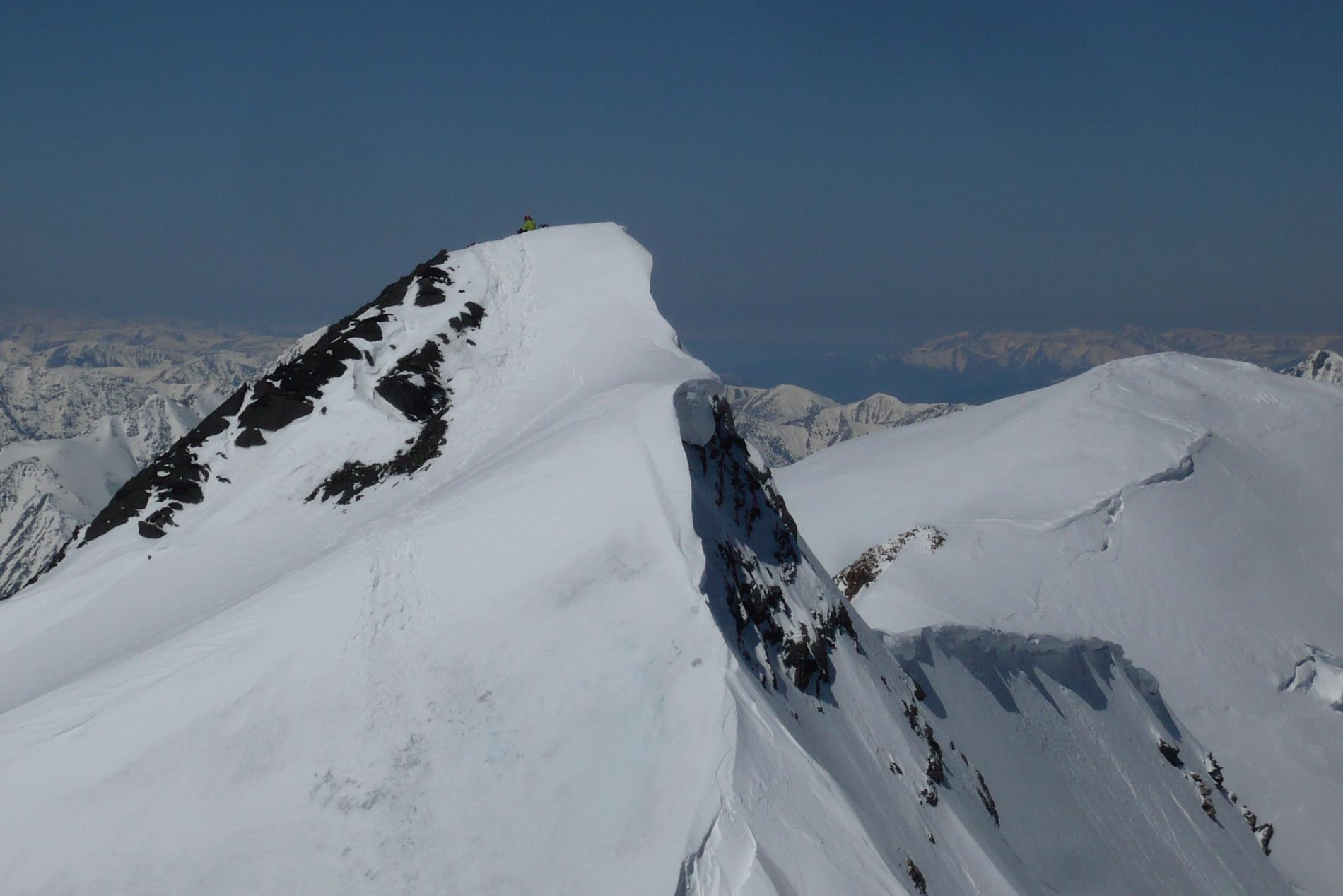 Ключевое место маршрута - небольшой участок открытого льда