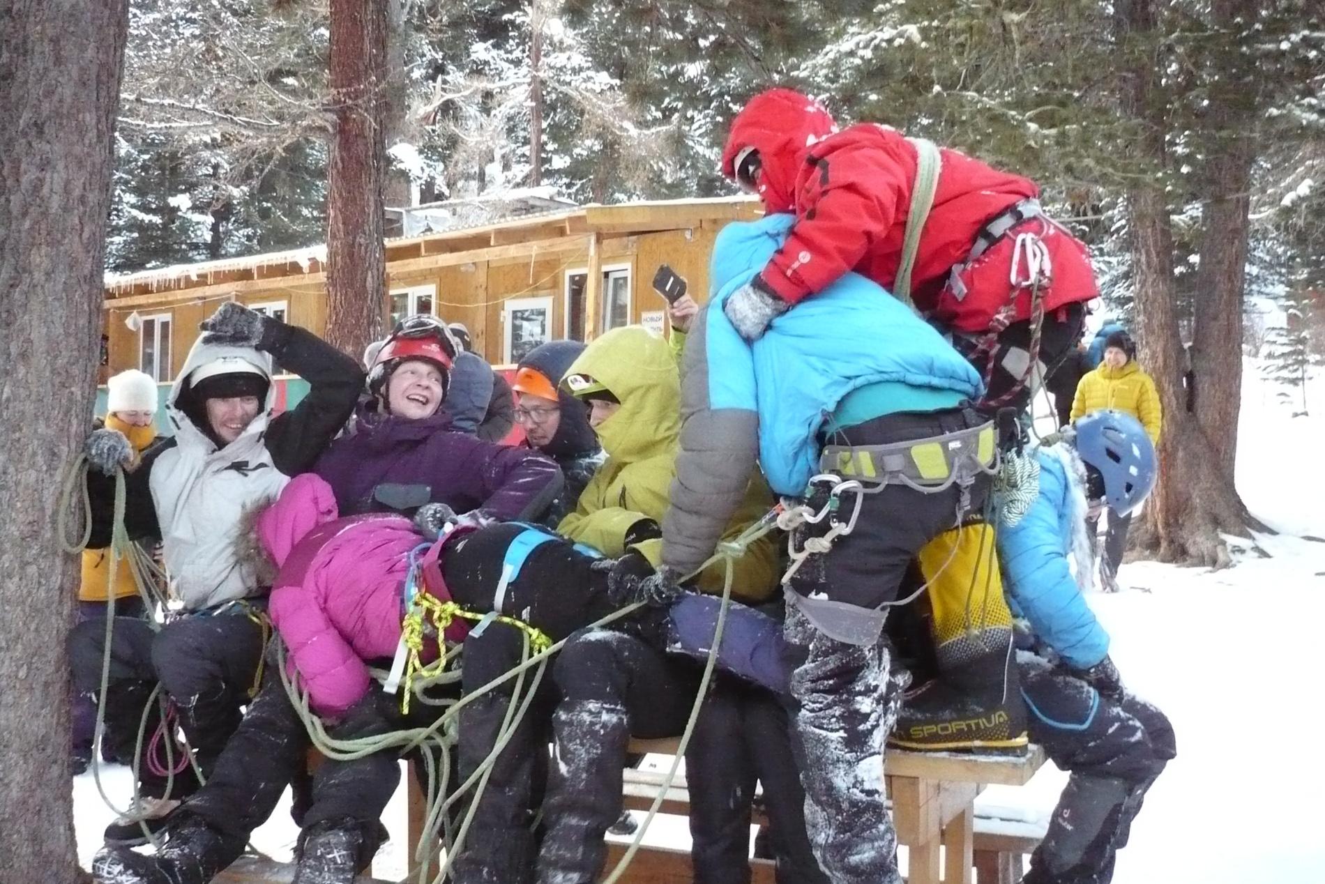 Посвящение в альпинисты