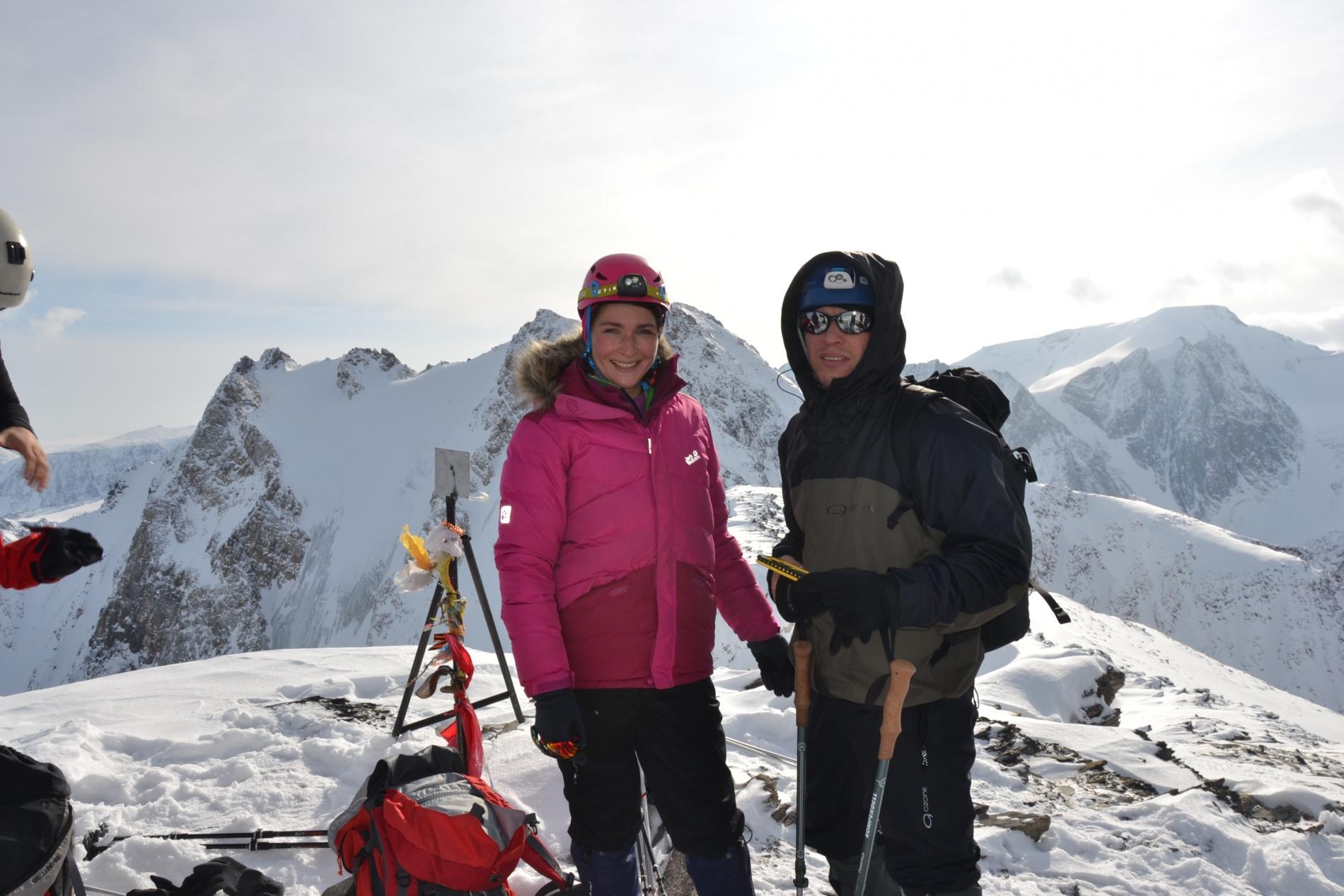 На вершине Юбилейная (3 403 м) 06.11.2019 г. Отделение НП-1