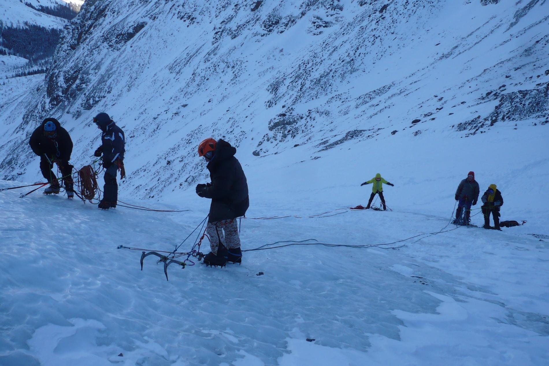 Работа на льду